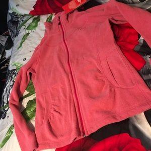Pink NorthFace Fleece Jacket